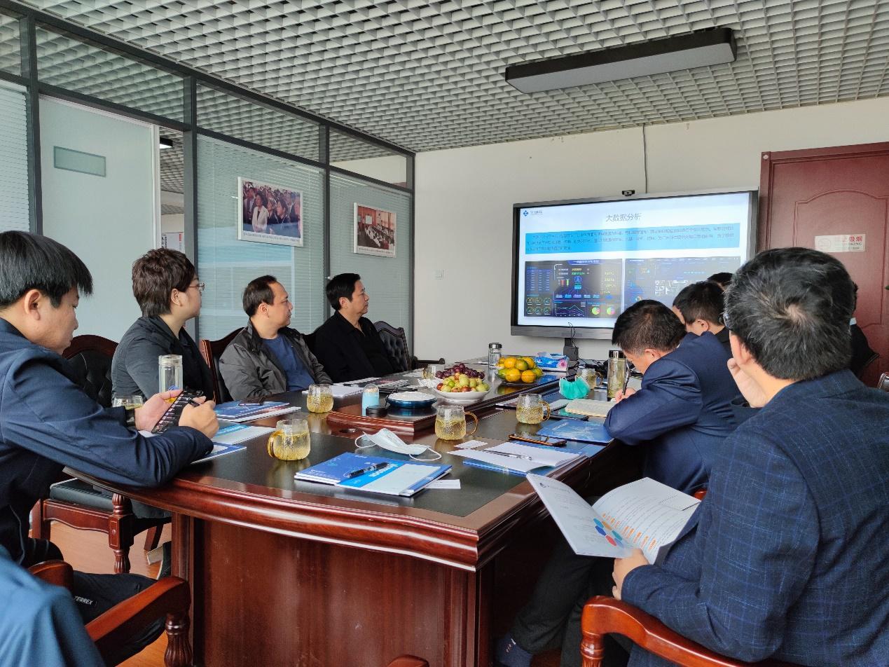 山东理工职业学院领导考察学川科技公司